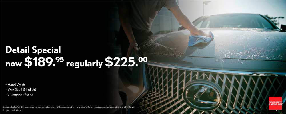 Los Angeles Lexus Service Specials and Coupons - South Bay Lexus
